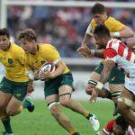 Australie en action Rugby